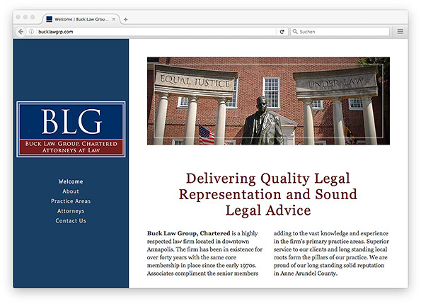 Buck Law Group Website