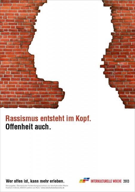 Plakat- und Postkartenmotive gegen Rassismus und Fremdenfeindlichkeit | Interkulturelle Woche