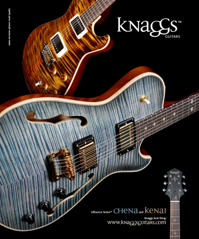 Knaggs Guitars Influence Series