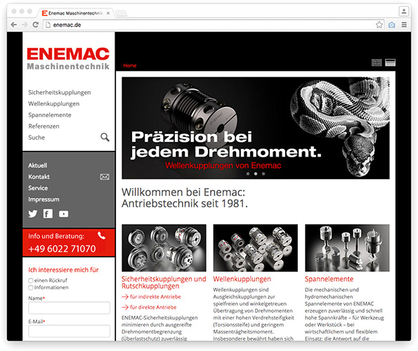 ENEMAC Website