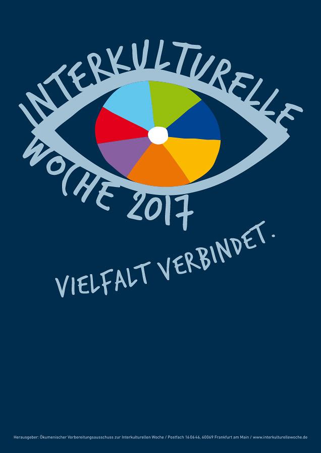 Plakat Interkulturelle Woche 2017